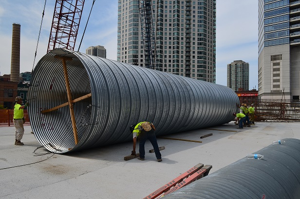 Drainage Products Corrugated Steel Pipe St Regis