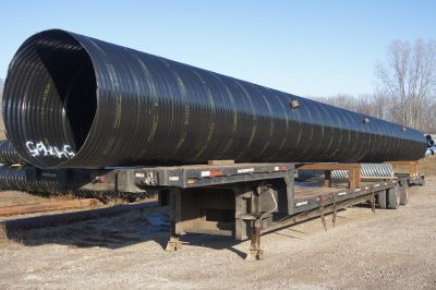 CSP Pipe Option Photos & Drainage Products u2013 Corrugated Steel Pipe | St. Regis Culvert | St ...