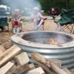 Camp fire rings