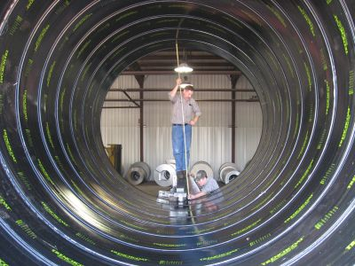 Drainage Products Corrugated Steel Pipe St Regis Culvert St